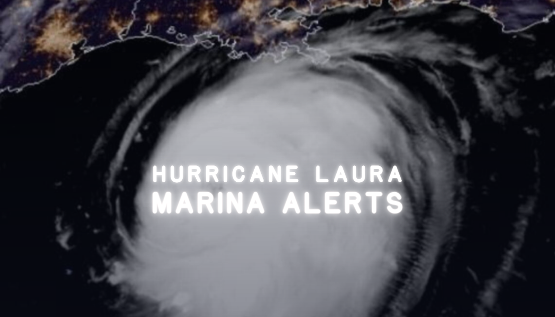 Hurricane Laura: Marina Closure Updates for Boaters